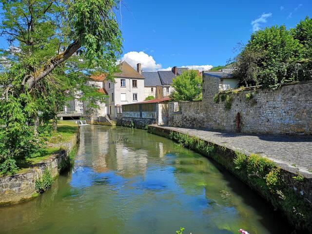 Maison La Ferté Milon proche Canal de l'Ourcq