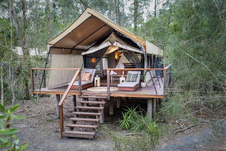 Deluxe Safari Tent · Deluxe Safari Tent - Paperbark Camp