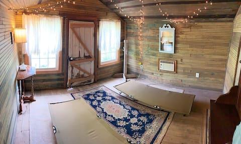 Cabana da Escola Belle Acres no Lago Anna
