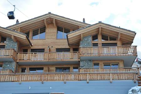 Design & Luxurious Ski In, Ski Out - Veysonnaz