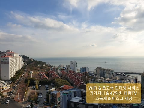 ⸙부산 해운대 고층 오션뷰 ㅣ Busan Haeundae ocean view⸙
