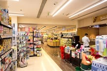 24 hour super market in the ground floor for your convenience