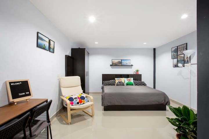 (6) Simply stay, 5m skytrain,Icon Siam, river,wifi