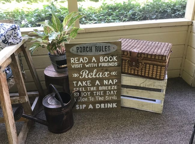 The Front Porch Retreat