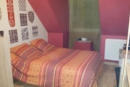 Tia - Chambre confortable / parking / breakfast - Calais