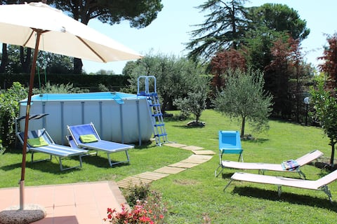La Casa di Francesca, al Lago di Bracciano.