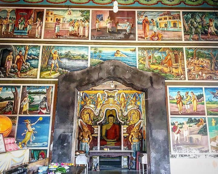 See paintings of Buddha