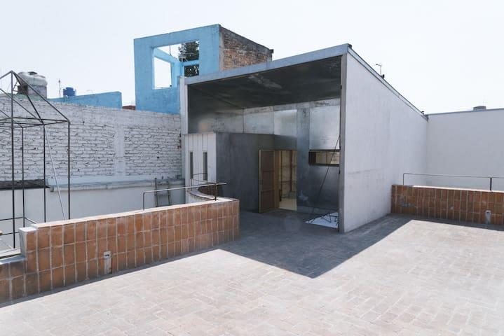 Residence in CDMX, perfect for artists - Ciudad de México - Szeregowiec