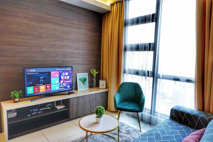 Warmly 2 bedroom Suites | The Robertson KL | wifi