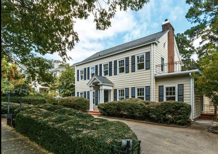 Luxurious 1BR in Grand Old Home, Downtown Durham