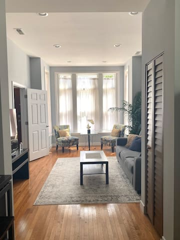Living room windows get the best daylight in