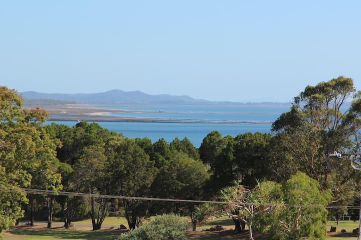 Island getaway-harbour views