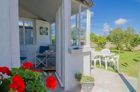Appartement privé en rez de jardin