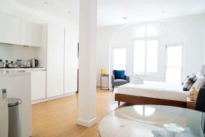 Modern, Piccadilly Studio Apartment