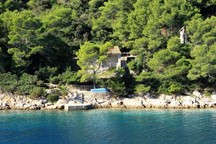 Holiday house Dob - 5m from the sea: Cove Stoncica (Vis), Island Vis