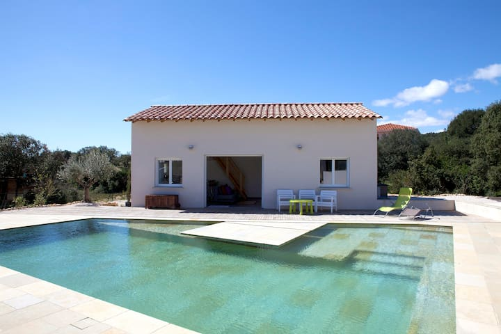 Detached house with swimming pool - Argelliers - Talo