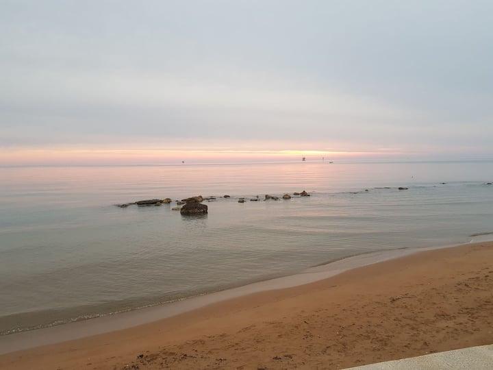 Bungalow 1 indipendente sulla spiaggia a Crotone