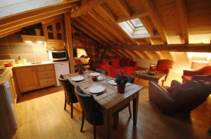 L'Epicerie, 2/4 personnes dans maison ancienne - Sainte-Foy-Tarentaise - Apartment