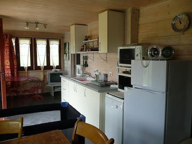 Chalet espace privé, proche du lac de Charavines