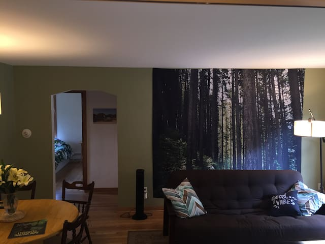 Cozy Private Room with King Bed - Madison - Kondominium