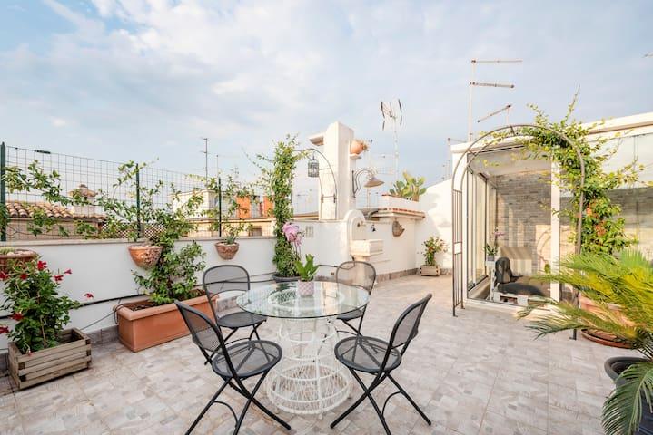 Attico panoramico a San Giovanni