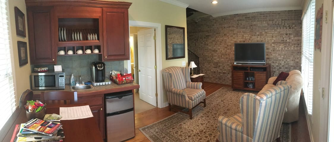 Private Guest Quarters/Private attached Apartment - Cookeville - Pension