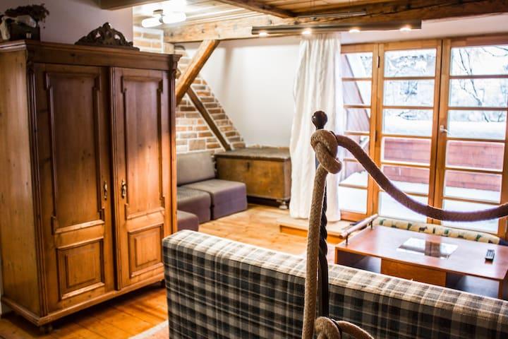 Farmhouse Ružová chalupa - studio - Rtyně v Podkrkonoší - Guest suite