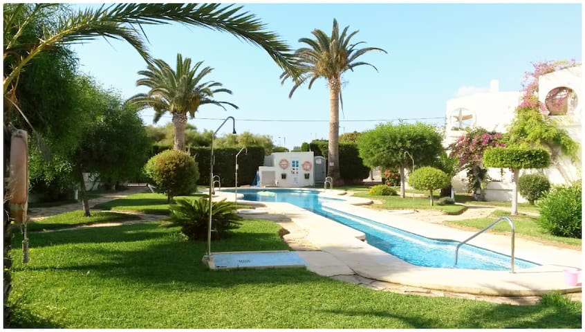 Lovely Apartment Right on The Beach - Vista de los Ángeles-Rumina - Huoneisto