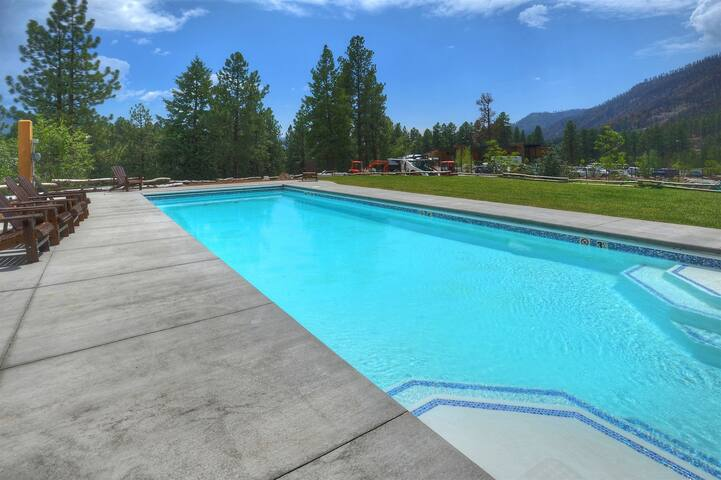 Tamarron Lodge Fitness Center spa and swimming pool Durango Colorado vacation rental