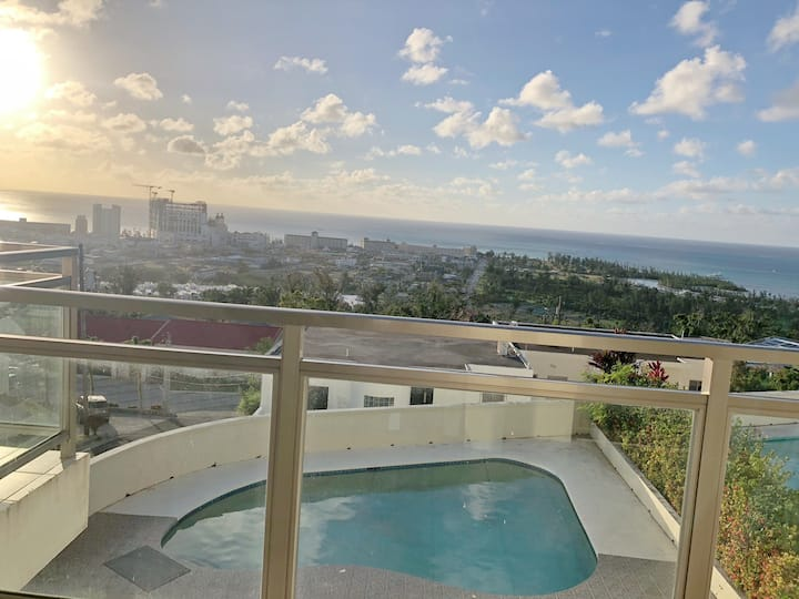 saipan angel swimming pool ocean view  villa NO 3