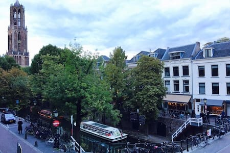 Great apartment in Utrecht centre with Dom view - ユトレヒト
