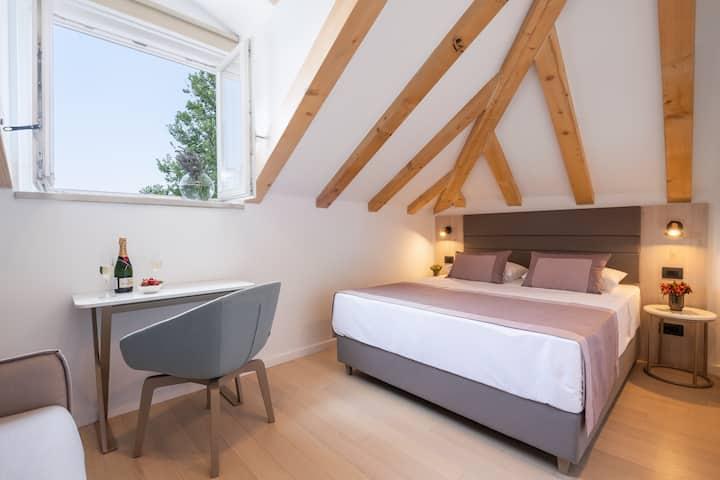 Superior Room with a Sea View Villa Faggioni