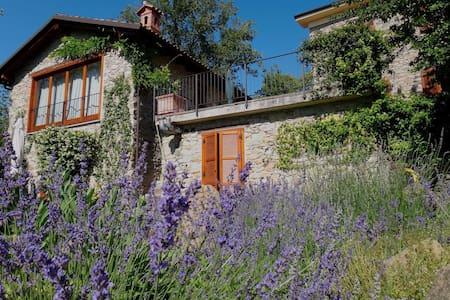 Charming stone house in the woods (AltoMonferrato) - Ponzone - 独立屋