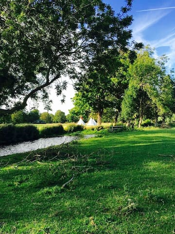 Tipi boutique camping Firle place - Firle  - Tenda Tipi