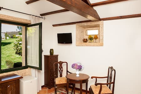 Cabaña casa Filgueira - Laxe - Allotjament sostenible a la natura