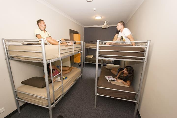 6 Bed Dorm Room Global Backpackers Port Douglas