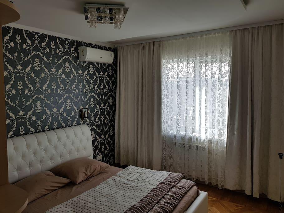 Спальная с кондиционером