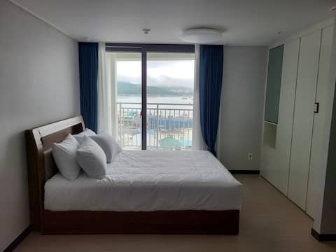 ❤OPEN❤ # NEW # UTTOP UBLES # Ocean View & Night View (Stony Mountain Bridge, Cable Car) # Lotte Mall, Waterfront Park 10-minute walk