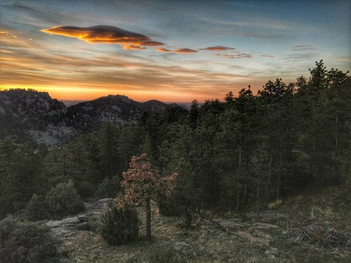 Estes/Lyons Mountain Sunrise Beauty- Camp Solstice