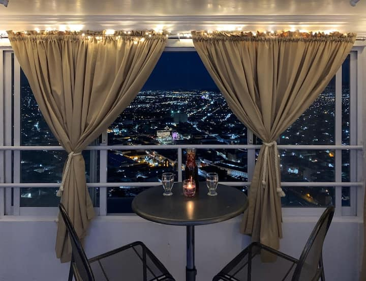 Habitación romantica con hermoso mirador