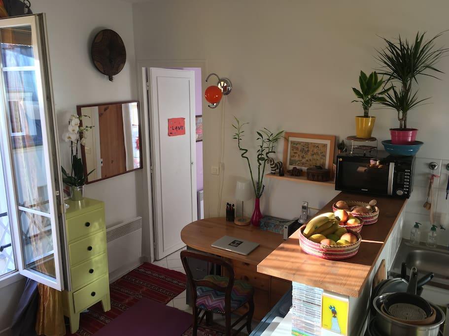 The bureau area