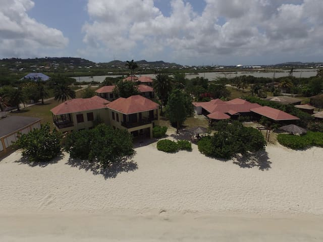 BEACHFRONT TWO BEDROOM APARTMENT - St John's