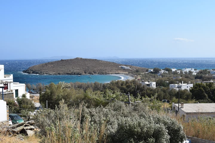 Aegean view from a Cycladic house