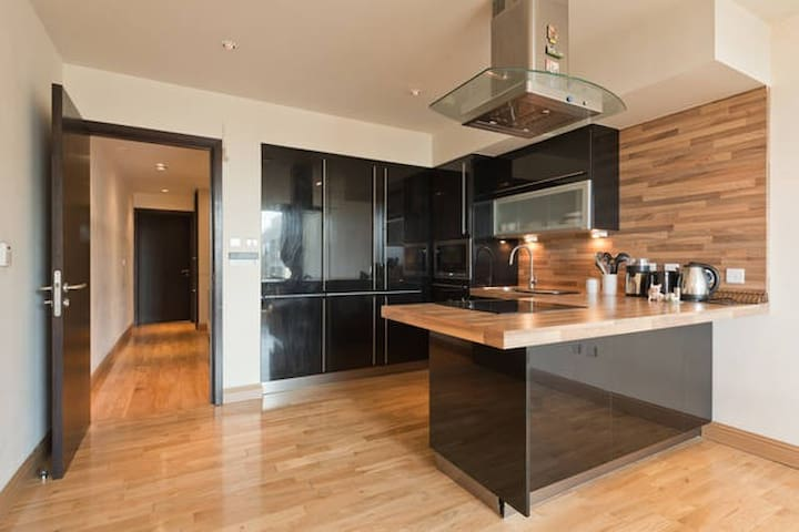 Modern apartment 25 minutes from Dublin centre.