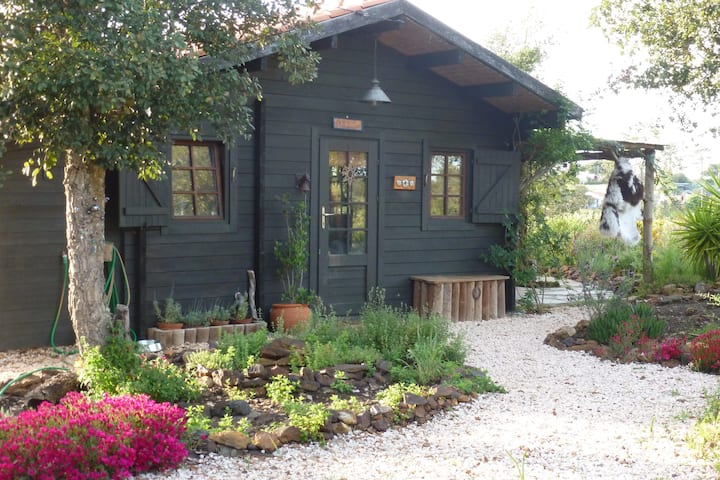 Wooden Chalet @ Aterra eco camping