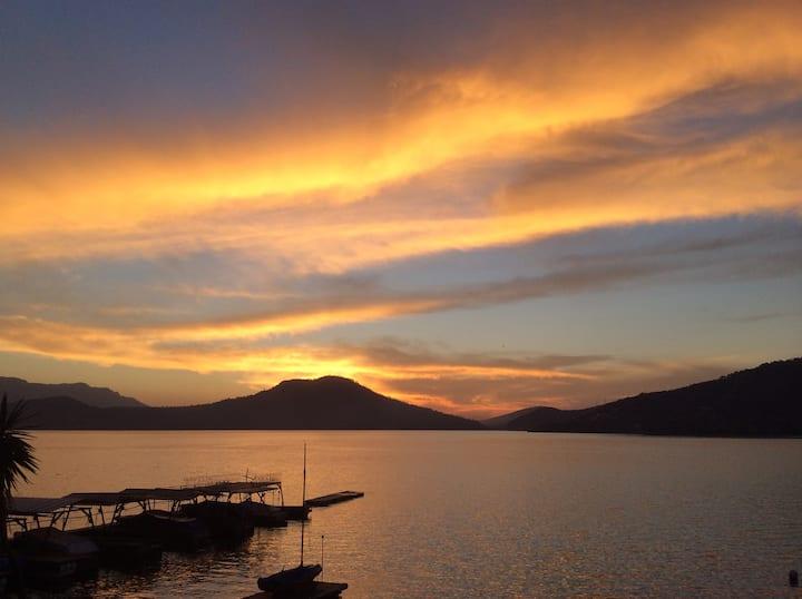 Espectacular Vista con acceso al lago