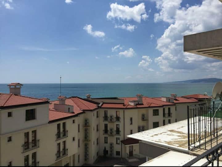 Sea view apartment Balchik