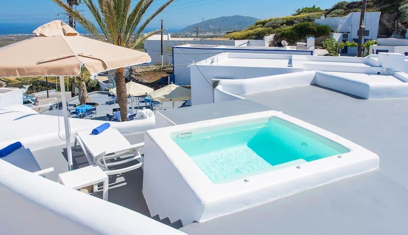 Tholos Arched Villa, Jacuzzi, Sea View