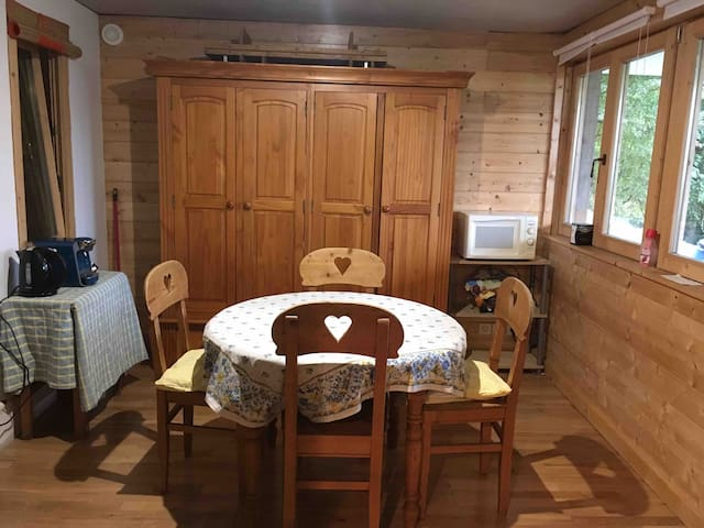 APPARTEMENT PRIVATIF DANS CHALET