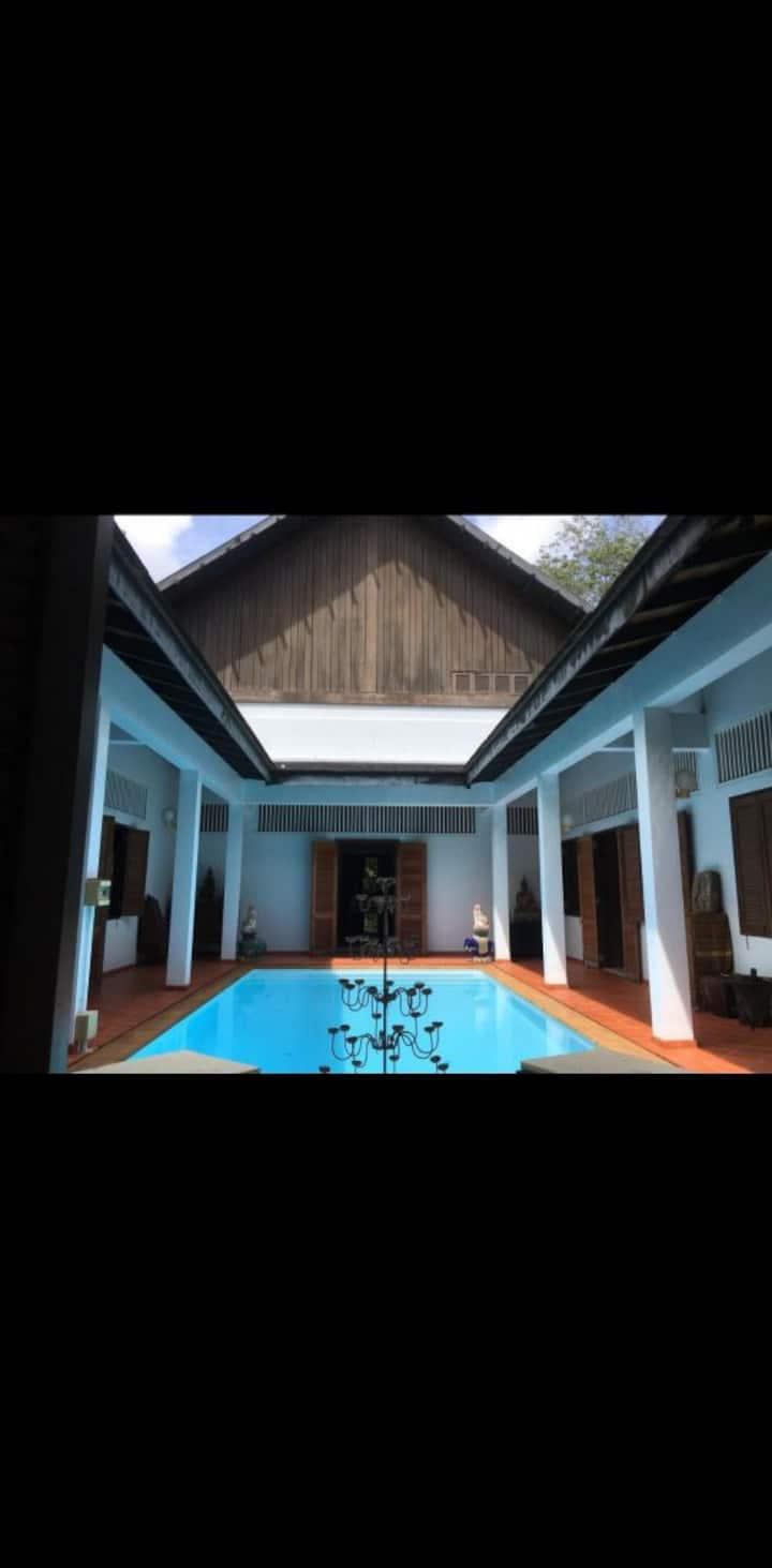 Banboran plantation pool villa homestay